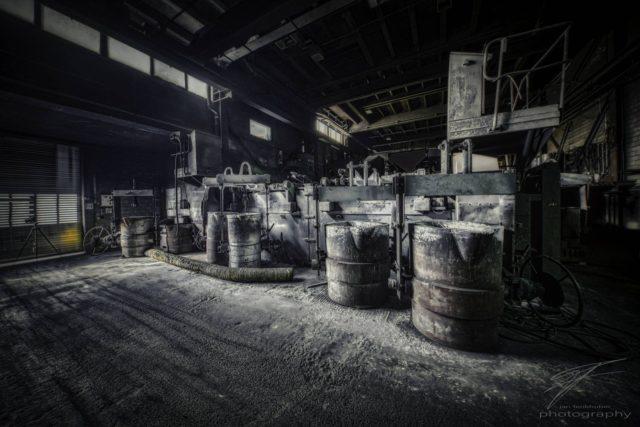 Foundry Pots in the old Ferrum foundry in Schafisheim, Switzerland, Schweiz