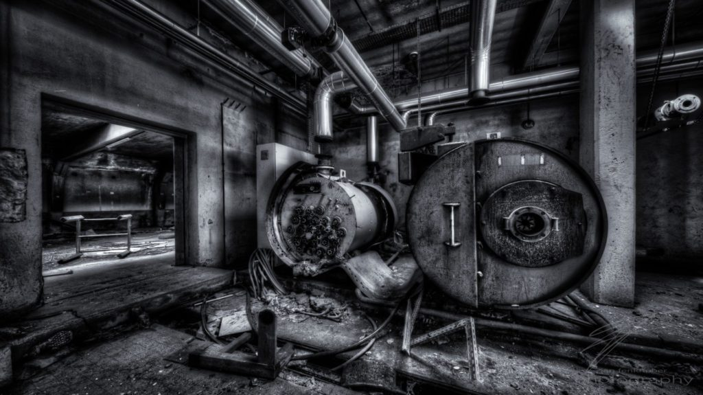 Urbex at the Clinique du DIable, Alsace, France - Boiler Room