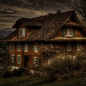 Old house at lake Lucern