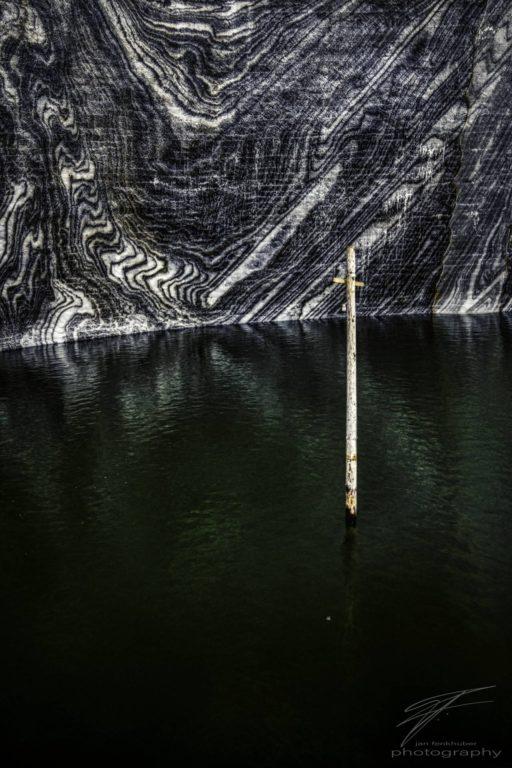 Salt Lake - The lake inside the Threzia Mine in Salina Turda, Cluj County, Romania