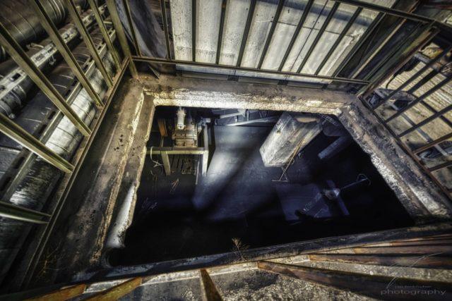 A Floor down - Inside the Ferrum in Schafisheim, Switzerland (Schweiz)