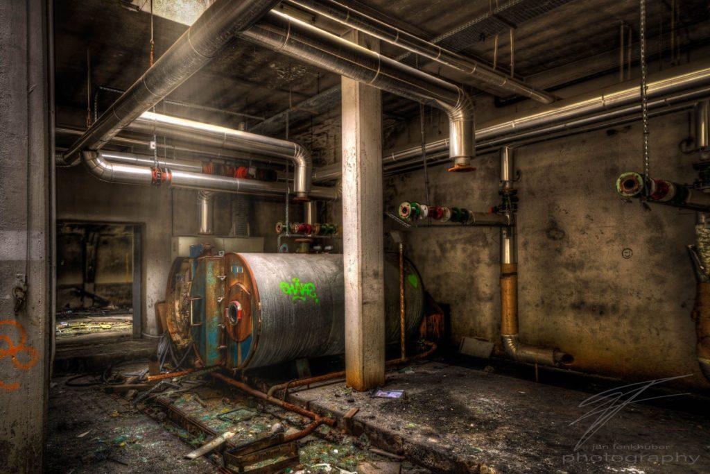 Boiler Room - Clinique Du Diable, Alsace, France