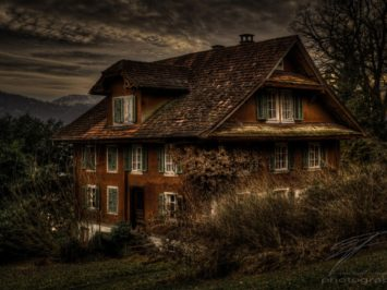 Old House on Lake Lucerne